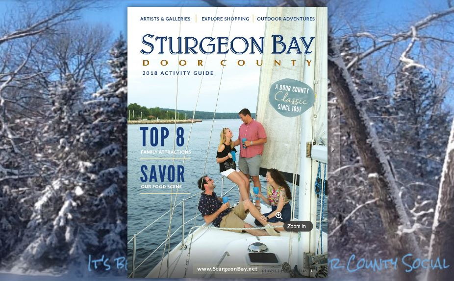 Sturgeon Bay Visitor Center 2018 Guidebook