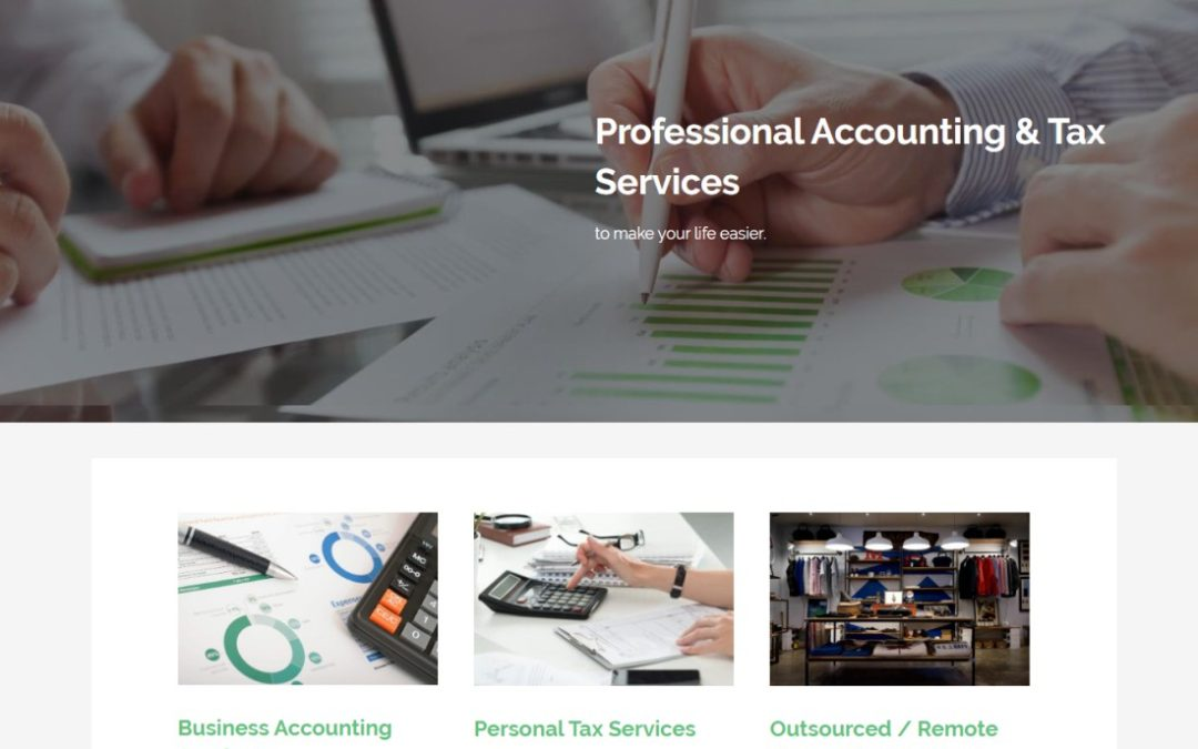 New Website for Seth Robertson CPA